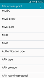 Samsung A300FU Galaxy A3 - MMS - Manual configuration - Step 14