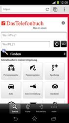 Sony Xperia Z1 - Internet und Datenroaming - Verwenden des Internets - Schritt 19