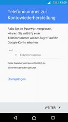 Sony Xperia Z5 Compact - Apps - Einrichten des App Stores - Schritt 11