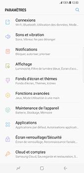 Samsung Galaxy S8 Plus - Réseau - Sélection manuelle du réseau - Étape 4