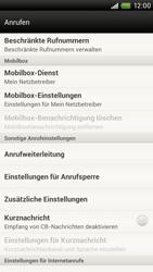 HTC One X - Anrufe - Rufumleitungen setzen und löschen - 5 / 10