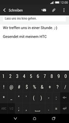 HTC Desire 620 - E-Mail - E-Mail versenden - 0 / 0