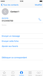 Apple iPhone 6s - Contact, Appels, SMS/MMS - Ajouter un contact - Étape 10