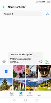 Huawei Mate 10 Pro - MMS - Erstellen und senden - 15 / 21