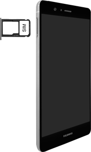 Huawei P9 Lite - SIM-Karte - Einlegen - Schritt 4