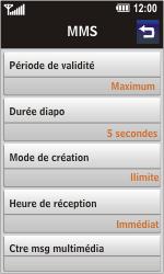 LG GD900 Crystal - MMS - Configuration automatique - Étape 8