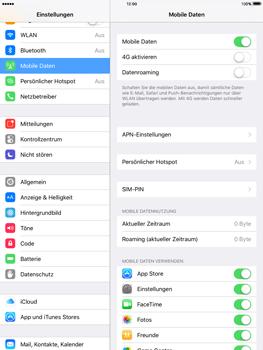Apple iPad Air 2 mit iOS 9 - Netzwerk - Netzwerkeinstellungen ändern - Schritt 5