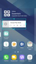 Samsung Galaxy A3 (2017) - Startanleitung - Installieren von Widgets und Apps auf der Startseite - Schritt 8