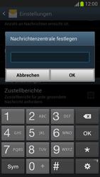 Samsung Galaxy Note 2 - SMS - Manuelle Konfiguration - 1 / 1