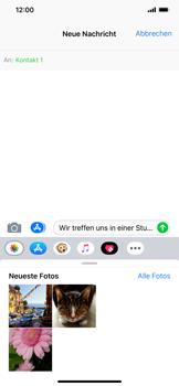 Apple iPhone XS Max - MMS - Erstellen und senden - 12 / 18