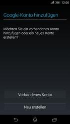 Sony E2003 Xperia E4G - Apps - Konto anlegen und einrichten - Schritt 4