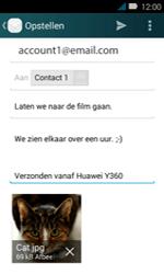 Huawei Y3 - E-mail - e-mail versturen - Stap 17
