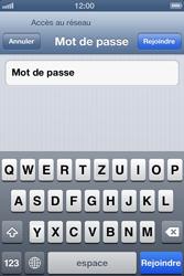 Apple iPhone 4S - WiFi - Configuration du WiFi - Étape 6
