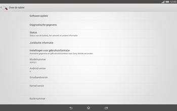 Sony Xperia Tablet Z2 4G (SGP521) - Software updaten - Update installeren - Stap 5