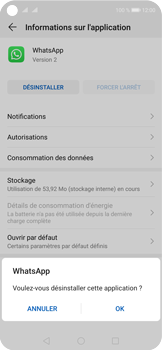 Huawei Nova 5T - Applications - Supprimer une application - Étape 7