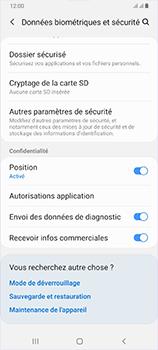 Samsung Galaxy A70 - Sécurité - modifier SIM PIN - Étape 5