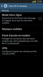 Samsung G386F Galaxy Core LTE - Internet - activer ou désactiver - Étape 5