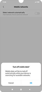 Xiaomi RedMi Note 7 - Network - Manual network selection - Step 9
