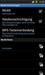 Samsung Galaxy S - WLAN - Manuelle Konfiguration - 9 / 10