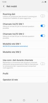 Samsung Galaxy Note 20 Ultra 5G - Rete - Come attivare la connessione di rete 5G - Fase 6