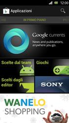 Sony Xperia U - Applicazioni - Configurazione del negozio applicazioni - Fase 15