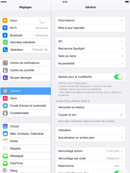 Apple iPad Air - WiFi - Configuration du WiFi - Étape 3