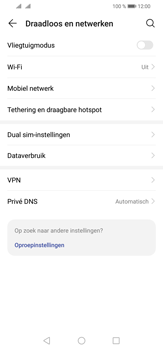 Huawei P30 Lite - Internet - mijn data verbinding delen - Stap 4