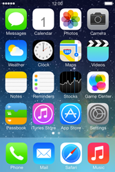 Apple iPhone 4 S iOS 7 - E-mail - Manual configuration (gmail) - Step 1