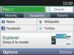 Nokia Asha 201 - Internet - Navigation sur Internet - Étape 3