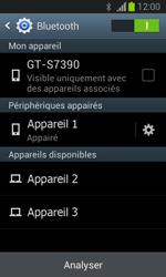 Samsung Galaxy Trend Lite - Bluetooth - Jumelage d