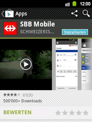 Samsung Galaxy Y - Apps - Installieren von Apps - Schritt 21