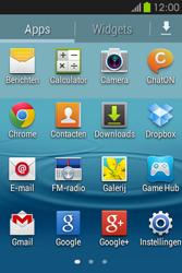 Samsung S6810P Galaxy Fame - toestel resetten - fabrieksinstellingen terugzetten - stap 3