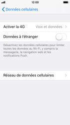 Apple iPhone SE - iOS 11 - Réseau - Changer mode réseau - Étape 5