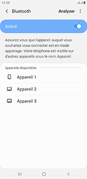 Samsung Galaxy J6 Plus - Bluetooth - connexion Bluetooth - Étape 9