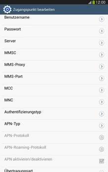 Samsung Galaxy Tab 3 8-0 LTE - Internet und Datenroaming - Manuelle Konfiguration - Schritt 13