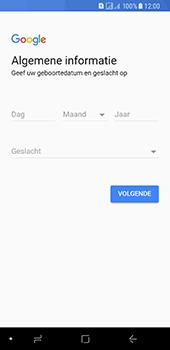 Samsung Galaxy A8 (2018) - apps - account instellen - stap 8