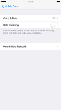 Apple Apple iPhone 6s Plus iOS 10 - Network - Change networkmode - Step 6