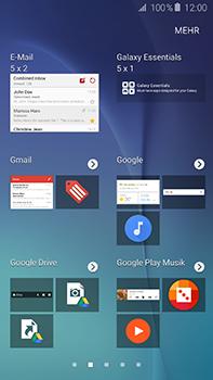 Samsung Galaxy A8 - Startanleitung - Installieren von Widgets und Apps auf der Startseite - Schritt 5