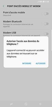 Samsung Galaxy S8+ - Internet et connexion - Utiliser le mode modem par USB - Étape 7