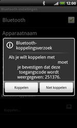 HTC A8181 Desire - bluetooth - headset, carkit verbinding - stap 8
