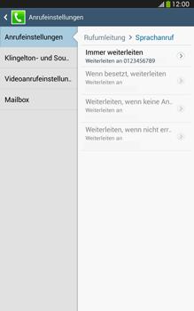 Samsung T315 Galaxy Tab 3 8-0 LTE - Anrufe - Rufumleitungen setzen und löschen - Schritt 11