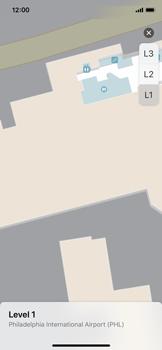 Apple iPhone X - iOS 11 - Indoor-Karten (Einkaufszentren/Flughäfen) - 9 / 12