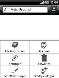 HTC A3333 Wildfire - MMS - Erstellen und senden - Schritt 11