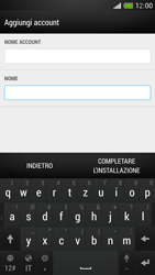 HTC One Mini - E-mail - configurazione manuale - Fase 19