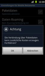 Samsung Galaxy S Advance - Internet und Datenroaming - Manuelle Konfiguration - Schritt 7