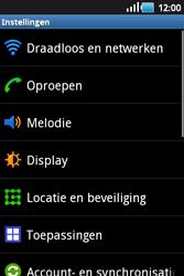 Samsung S5660 Galaxy Gio - Voicemail - Handmatig instellen - Stap 4