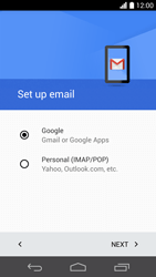 Huawei Ascend P6 - E-mail - 032a. Email wizard - Gmail - Step 9
