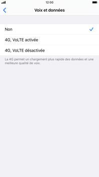 Apple iPhone 7 Plus - iOS 13 - Réseau - Comment activer une connexion au réseau 4G - Étape 6