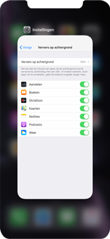 Apple iPhone XR - apps - apps afsluiten - stap 10