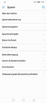 Huawei Nova 3 - Fehlerbehebung - Handy zurücksetzen - 7 / 11